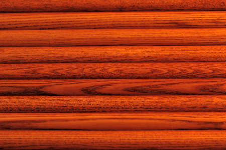 Background - Wood - Horizontal Close-up of Oak Roll Top Desk