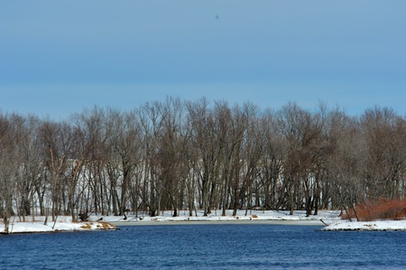 Winter on The Wisconsin River