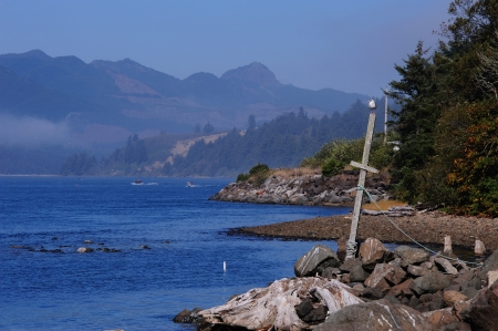 Ocean View on Oregon Coast Stockfoto