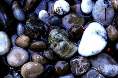 Oregon Coast Rocks Washed By The Pacific Ocean Stockfoto