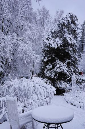Winter in Wisconsin in april 2014