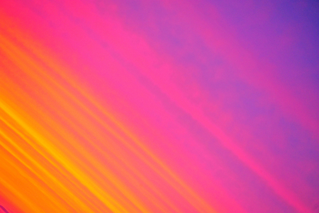 Bright Colored Sunset Panned Diagonal in Wisconsin