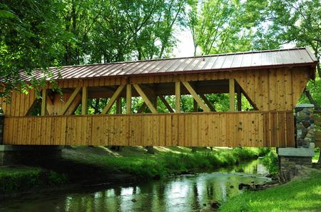 covered bridge': Covered Bridge - Sparta - Wisconsin