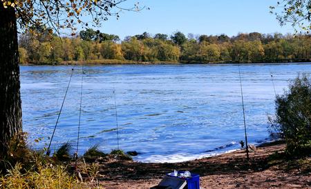 Best Fishing Spot on Wisconsin River, Necedah, Wisconsin