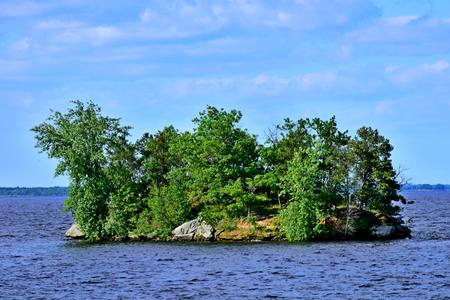 Lake Petenwell Island, Wisconsin River, Wisconsin