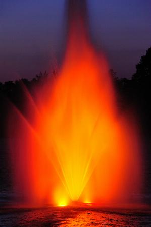 Blaze on the Pond - Necedah, Wisconsin