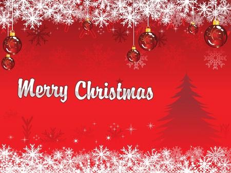 christmas theme: abstract christmas wallpaper vector illustration
