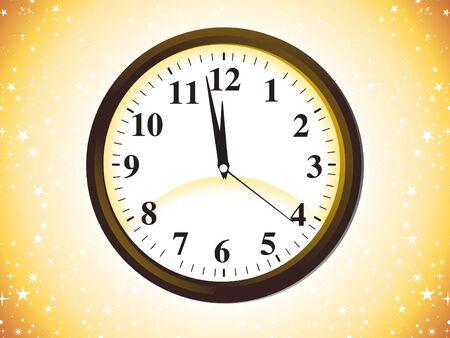abstract clock icon vector illustration Stock Vector - 9085737