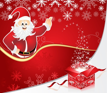 abstract christmas background vector illustration Vector