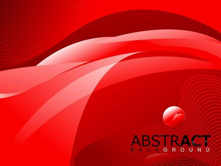 moder: abstract shiny red background vector illustration