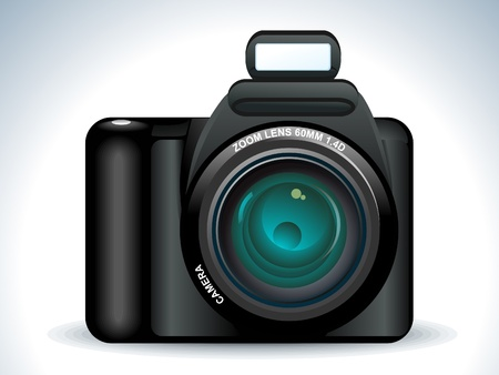 abstract camera icon vector illustration Vector