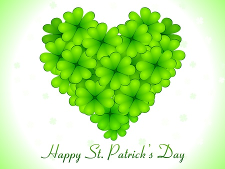 abstract st patricks day card vector illustration Stock Vector - 9085617