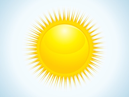 abstract sun icon vector illustration Stock Vector - 9085398