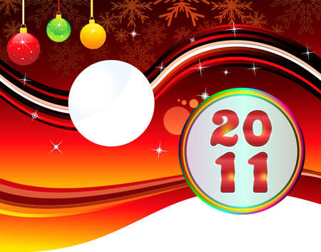 xmas linework: abstract christmas& new year backgorund