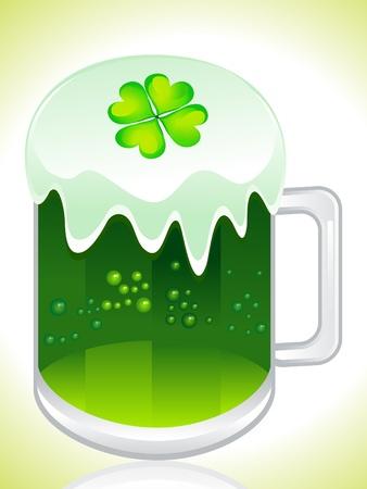 st green beer vector illustration Stock Vector - 9086016