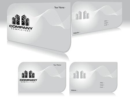 buisness: abstract buisness cards template vector illustration