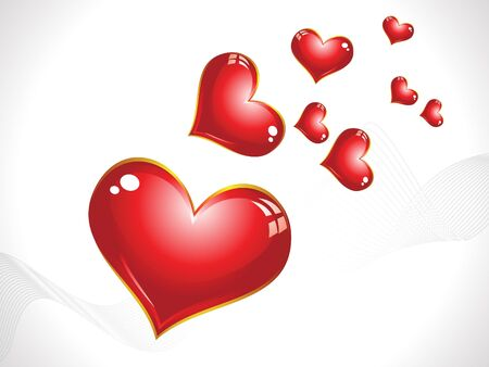 modernffection: abstract valentine wallpaper vector illustration