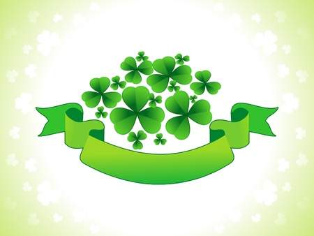 abstract st patrics wallpaper vector illustration  Vector