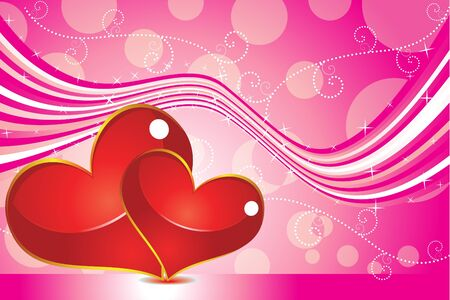 abstract valentine backgrond vector illustration  Illustration