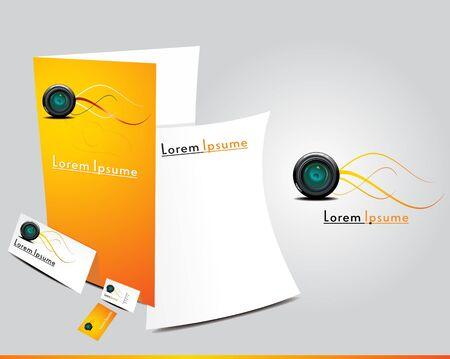 abstract brochure icon vector illustration Stock Vector - 9132102
