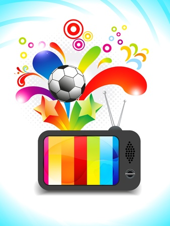 tv icon: abstract multiple entaintment tv icon vector illustration