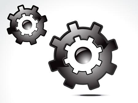 herramientas de mec�nica: Resumen de la configuraci�n de la ilustraci�n vectorial de icono Vectores