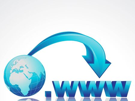 http: abstract internet concept with globe