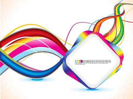abstract grunge based wave background Stock Vector - 9301392