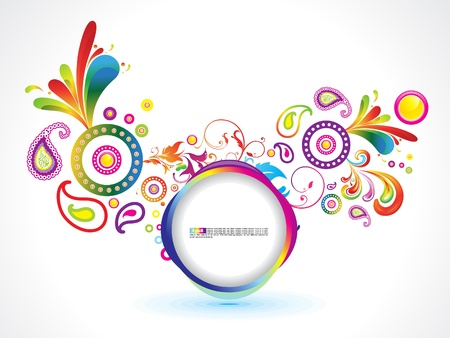 abstract magical explode template vector illustration