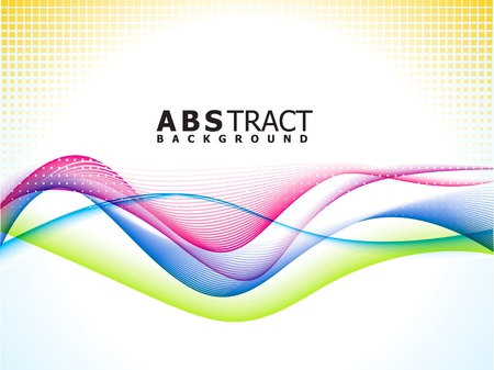 abstract colorful rainbow background vector illustration Stock Vector - 9940861