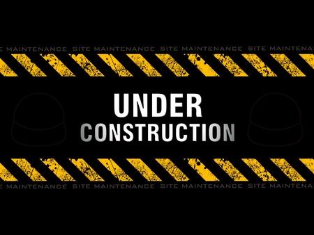 under construction: abstract under construction background vector illustration Illustration