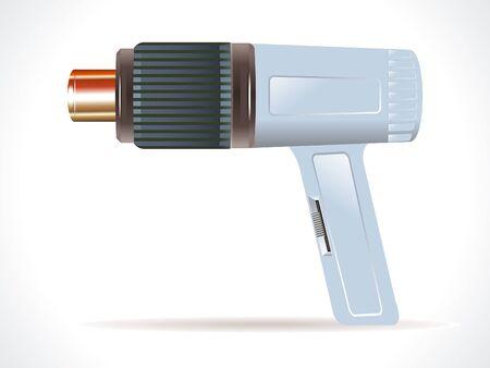 detailed hair dryer element vector illustration Vector