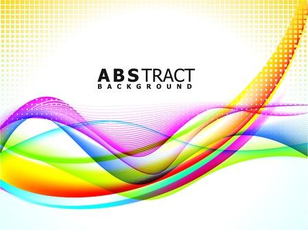 gradienter: abstrakt brokig bakgrund våg vektor illustration