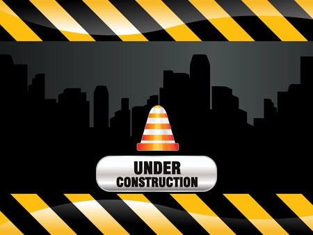 high rise: abnstract shiny construction background vector illustration