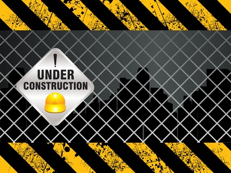 abnstract shiny construction background vector illustration