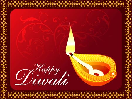 abstract diwali concept wallpaper vector illustration Stock Vector - 10551672