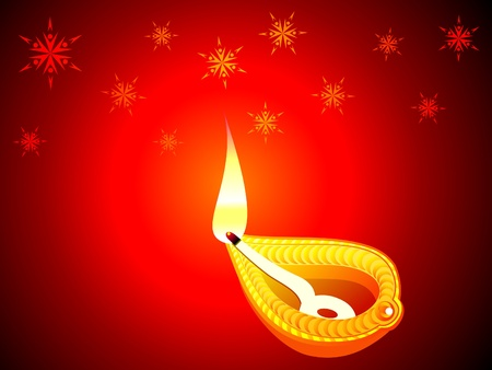 abstract diwali concept wallpaper vector illustration Vector
