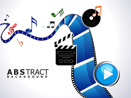 abstract multiple video background