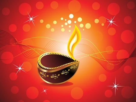 hinduism: abstract diwali background