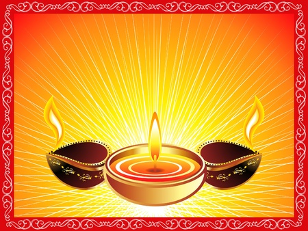 deepawali backdrop: abstract diwali background