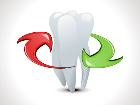 abstract teeth protection template