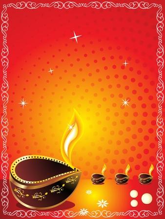 divinit�: Diwali abstraite de fond