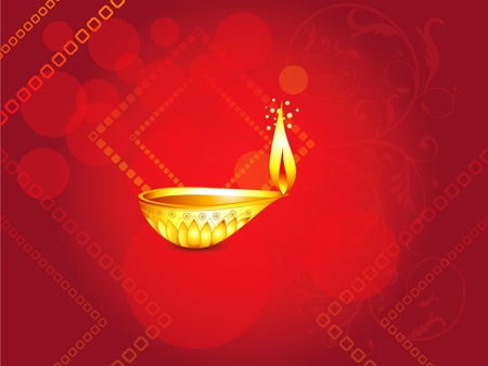 abstract diwali background  Stock Vector - 10908007