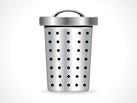 abstract shiny trash icon vector illustration Stock Vector - 11840930