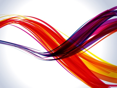 twirls: abstract colorful rainbow wave background vector illustration