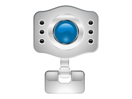 abstract web camera icon  Stock Photo - 13265369