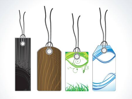 abstract multiple sale tags vector illustration Stock Vector - 13775435