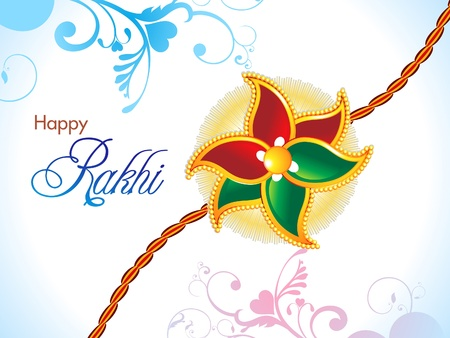 abstract raksha bandhan wallpaper illustration