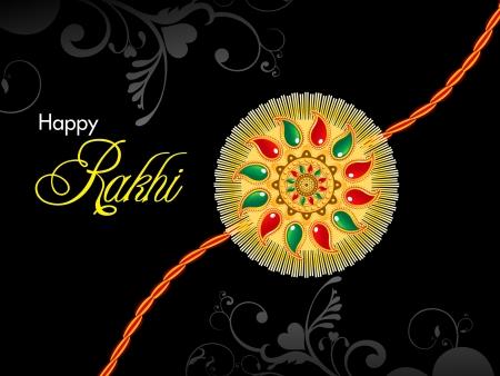 raksha bandhan: raksha bandhan theme rakhi  illustration