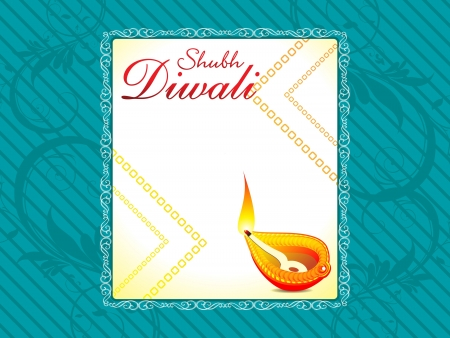 deepawali backdrop: abstract Diwali background  Illustration